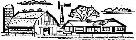 rancheros: Hacienda y granero