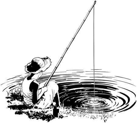 De pesca favorito Vectores