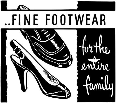 Fine Footwear Vector