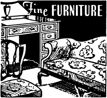 Fine Furniture 2 Vector