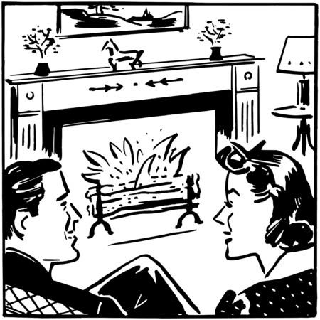 Fireside Chat Reklamní fotografie - 28336292