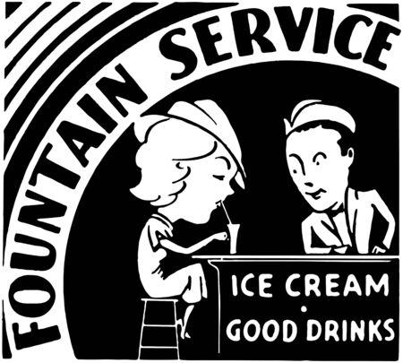 Fountain Service Vector