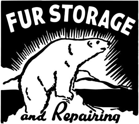 Fur Storage Vector