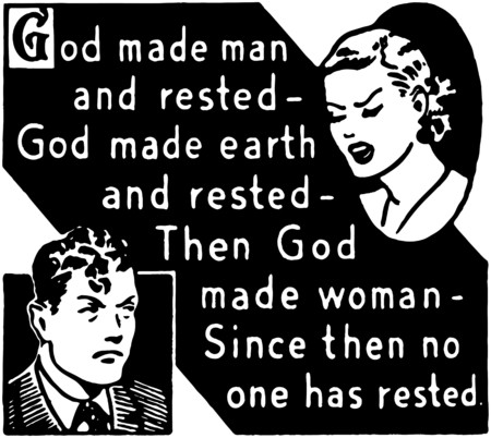 exasperation: God Made Man