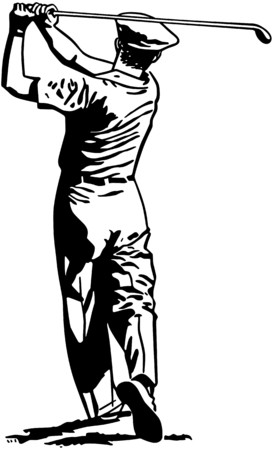 2 ティーのゴルファー 写真素材 - 28336708
