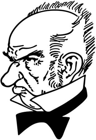 miserable: Grumpy Old Man