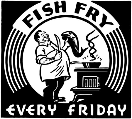 Fish Fry Illustration