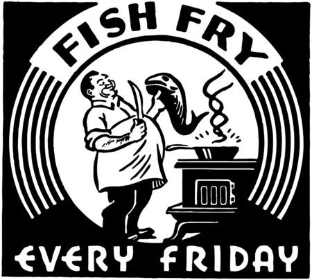 Fish Fry Ilustração
