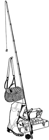 tackle box: Fishing Gear
