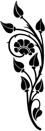 Floral Motif Vector