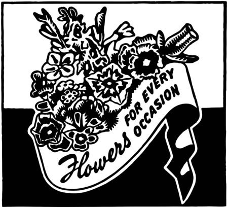 thorn bush: Flowers For Every Occasion Illustration