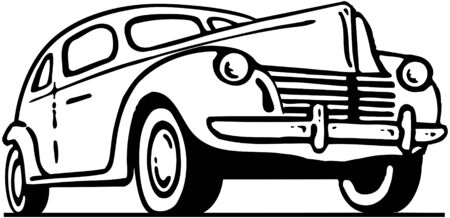 forties: Forties Ford Illustration