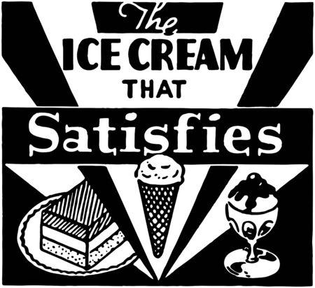 satisfies: Ice Cream That Satisfies