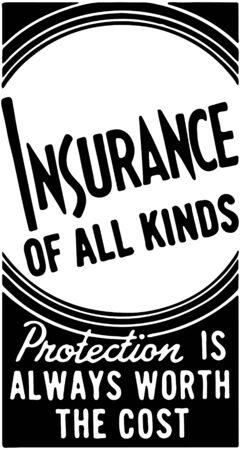 Insurance Of All Kinds Illustration