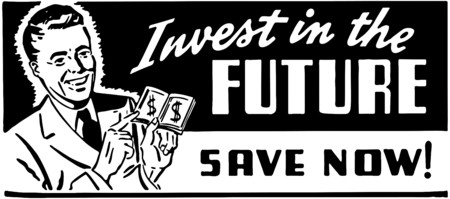 Invest In The Future  イラスト・ベクター素材