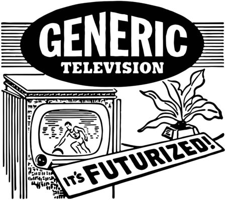 Futurized Television Vector