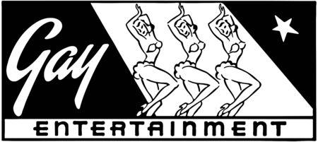 Gay Entertainment 2 Stock Vector - 28337440