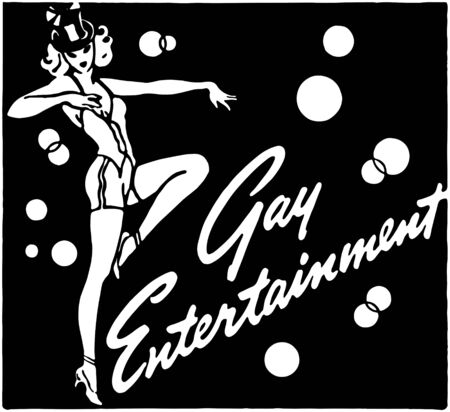 Gay Entertainment 3 Stock Vector - 28337441
