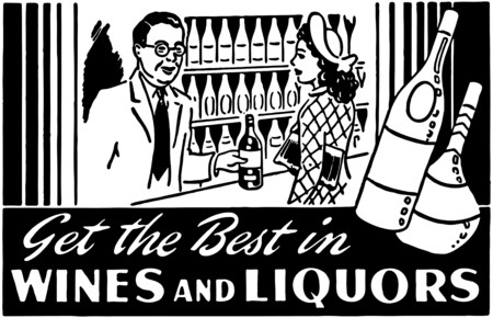 wines: Get The Best In Wines 2 Illustration