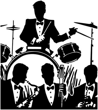drumming: Jazz Band