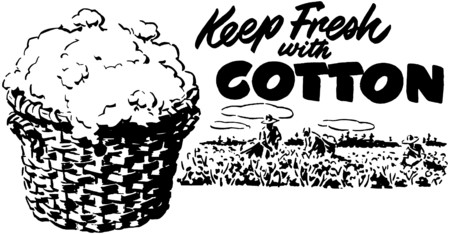 peasant woman: Keep Fresh With Cotton