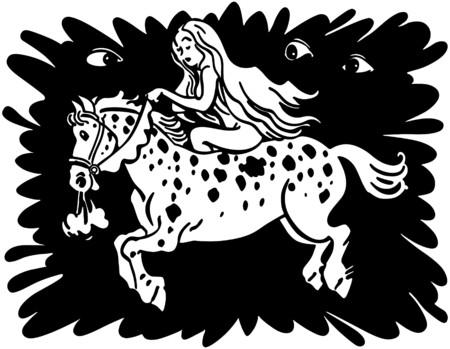 Lady Godiva Banque d'images - 28337677