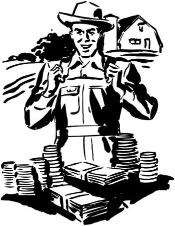 wealthy man: Low Cost Farm Loans