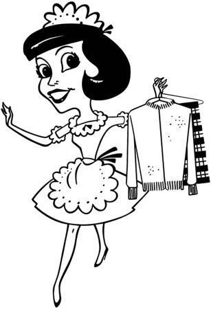 Maid With Clean Clothes