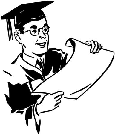Male Grad