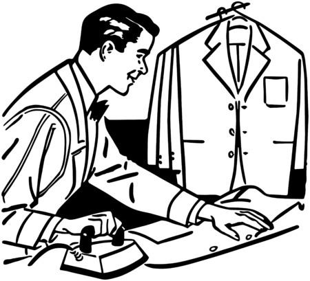 Man Ironing Фото со стока - 28338001
