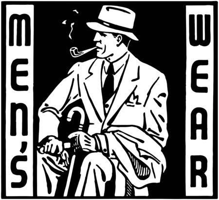 Mens Wear Illustration
