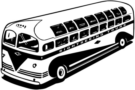 Modern Tour Bus