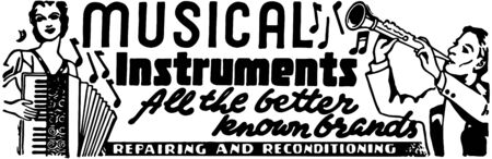 reconditioning: Musical Instruments 2 Illustration