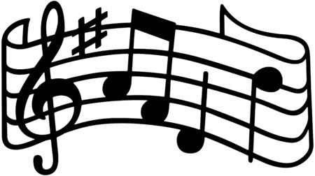 Music Staff Vector
