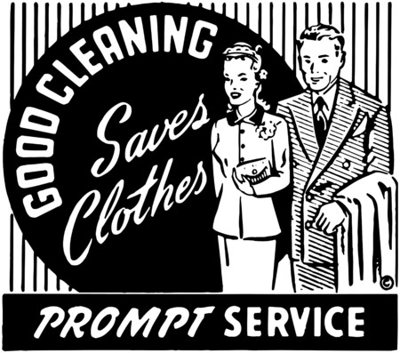 Good Cleaning Saves Clothes 2 Vector