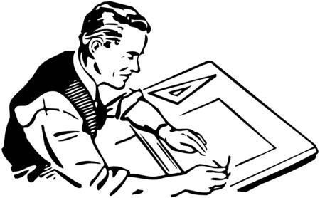 graphic artist: Graphic Artist Illustration