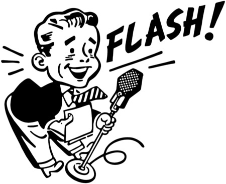 News Flash Vector