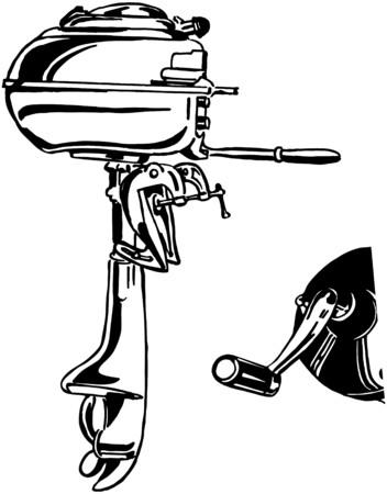 outboard: Outboard Motor Illustration