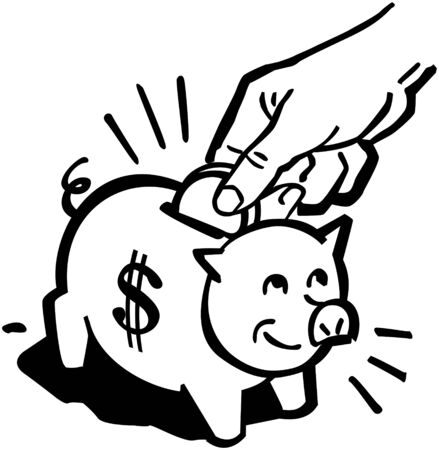 Piggy Bank Stock Illustratie