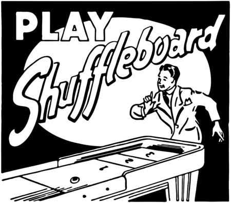 シャッフル ボードを再生します。