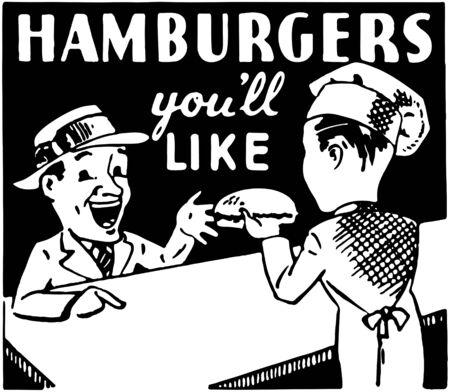 Hamburgers Youll Like Vector