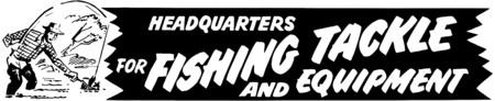 Headquarters For Fishing Illusztráció
