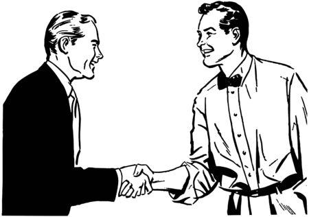 handshakes: Hearty Handshake