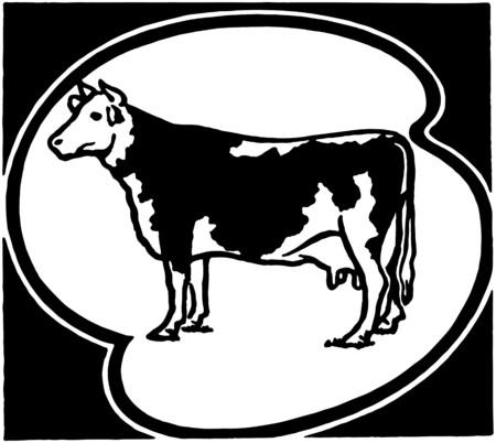 Holstein Cow Vector