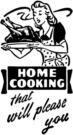 Home Cooking 3 向量圖像