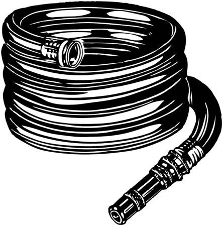 gardening hose: Hose Illustration