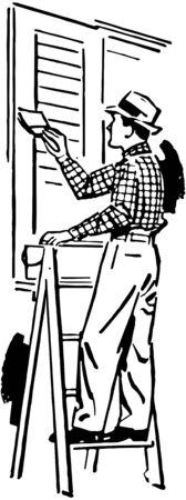 house painter: House Painter Illustration