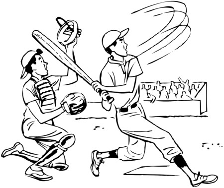 Its A Home Run Illustration