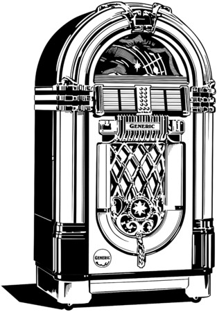 Jukebox 1 Vector