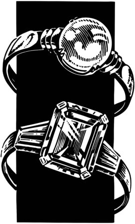 Ladies Rings Illustration